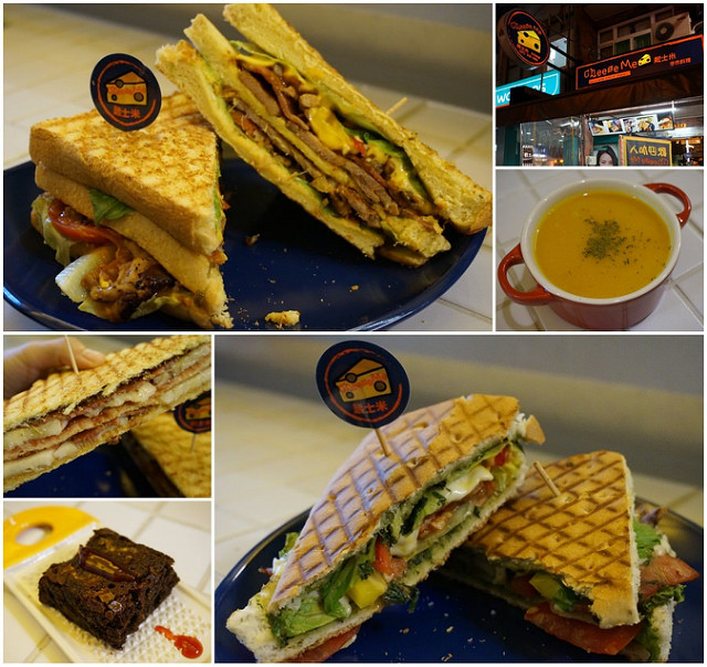 [高雄]紐約風咖啡輕食店!平價熱三明治帕尼尼-Cheese Me起士米