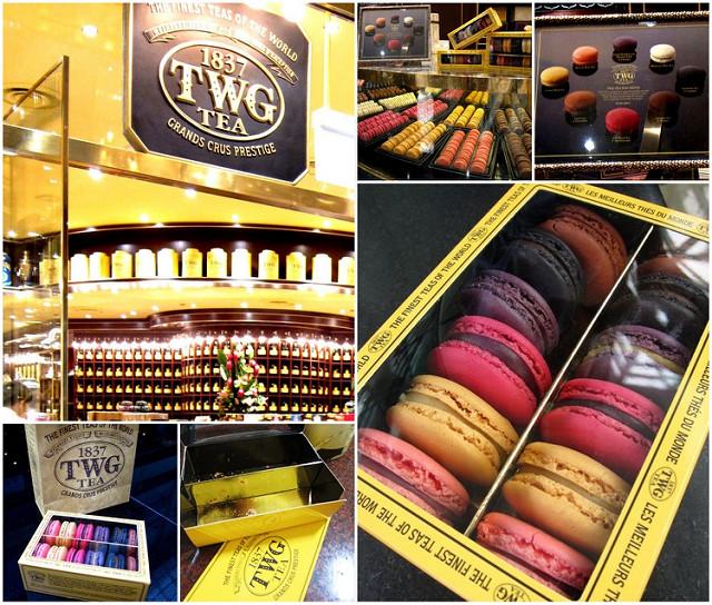 [新加坡]香氣十足茶味馬卡龍@TWG Tea shop