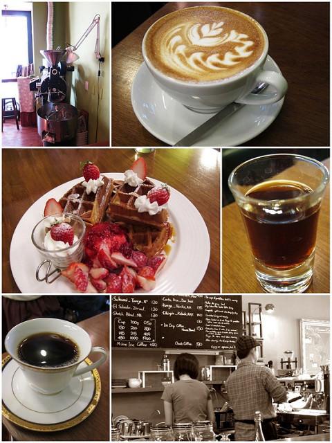 [高雄]冬季限定繽紛季節莓果鬆餅-三訪草圖自家烘焙咖啡館