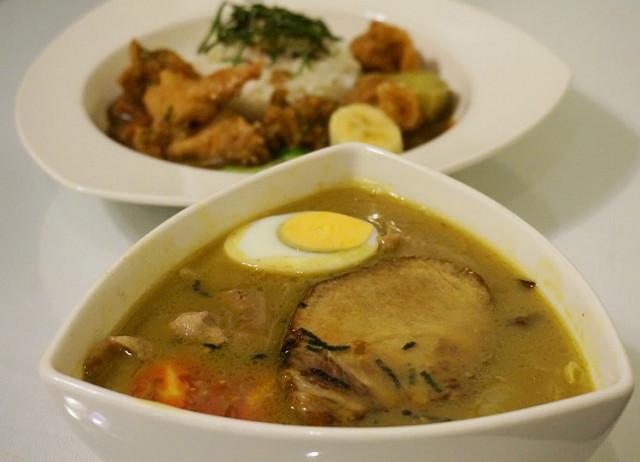 [台南]週末限定! 平價美味日式咖哩, 大推湯咖哩烏龍麵-橫須賀海軍咖哩