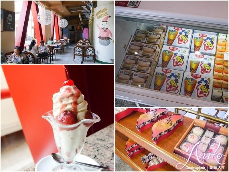 【高雄美食】百樂冰淇淋。50年歷史超古早味冰店!兒時的冰涼回憶