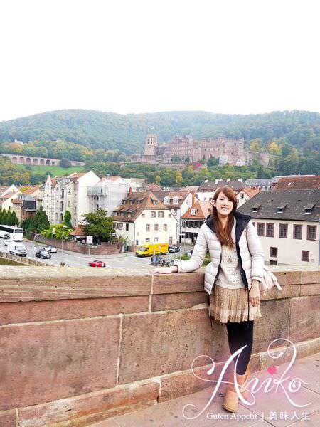 【2013❤德國】開朗少女12天的進擊冒險。海德堡城堡 x 老橋。優雅文藝小鎮海德堡Heidelberg (下)