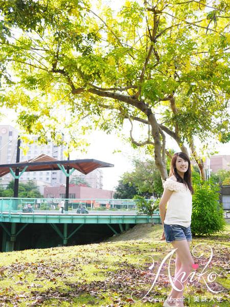 【台南旅遊】巴克禮紀念公園。初夏邂逅一場美麗黃金雨!阿勃勒花季