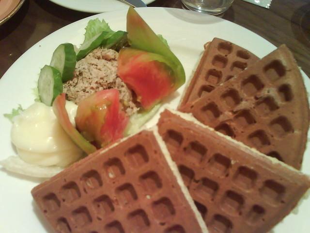 【食】米朗琪鮪魚鬆餅