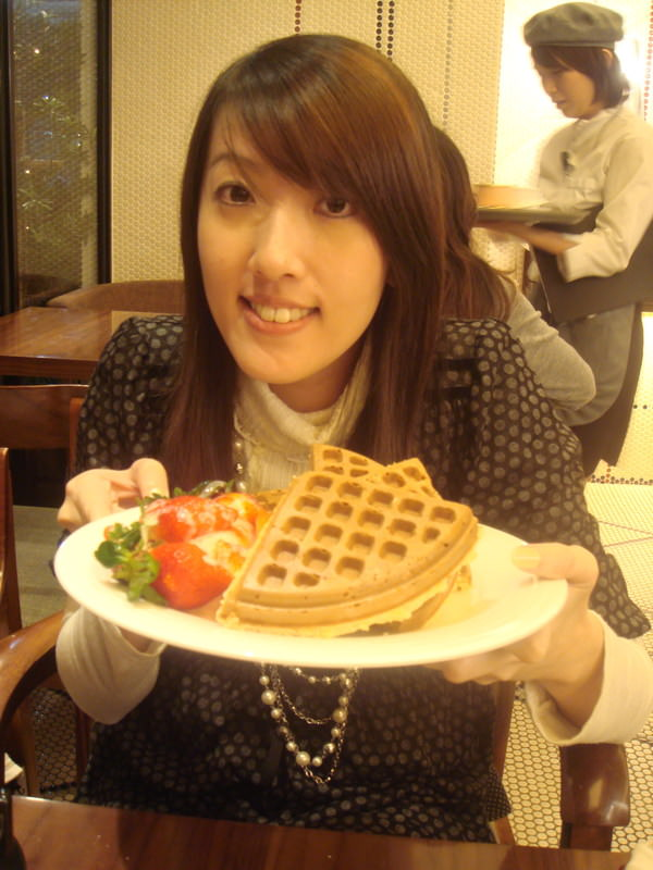 【食】米朗琪鬆餅好棒