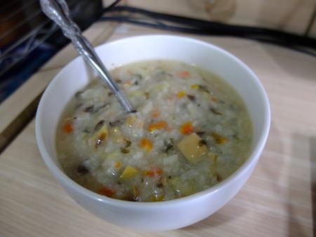 藥蔗乾菜粥3