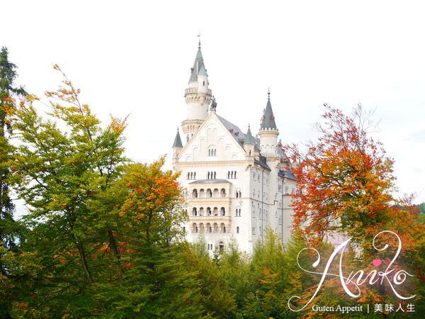 【2013❤德國】開朗少女12天的進擊冒險。迪士尼樂園的城堡靈感就是來自它。新天鵝堡Neuschwanstein(下)