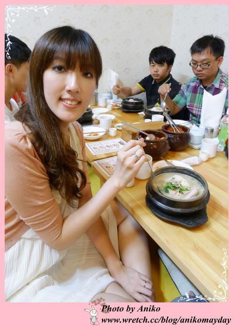 【2012夏❤首爾】5天4夜半自助行。來韓國不可不吃的蔘雞湯首選。土俗村蔘雞湯