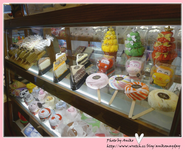 【秋❤台中】跟著我到東海藝術街尋寶。可愛的蛋糕毛巾