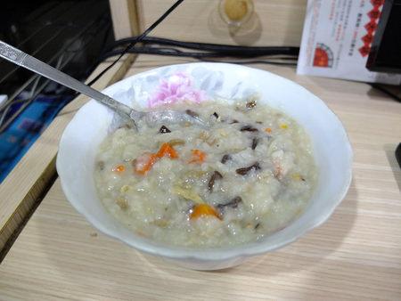 丹蔘和菇粥1