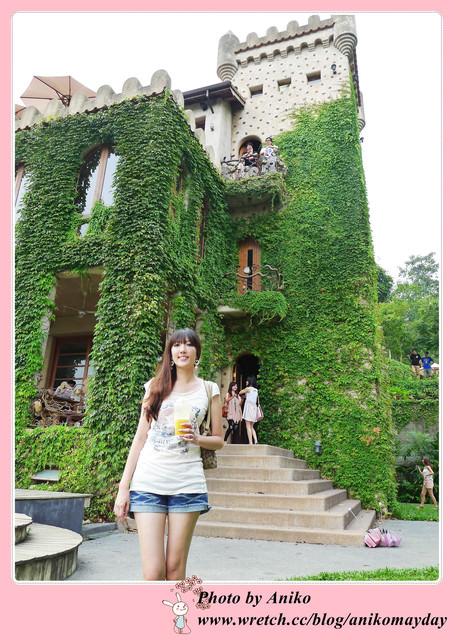 【秋❤苗栗】走進童話中的綠色城堡。天空之城
