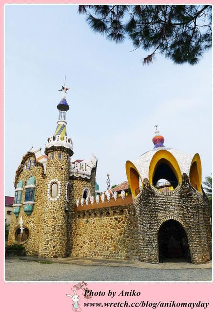 【秋❤雲林】欣賞西班牙城堡不用搭飛機。摩爾花園