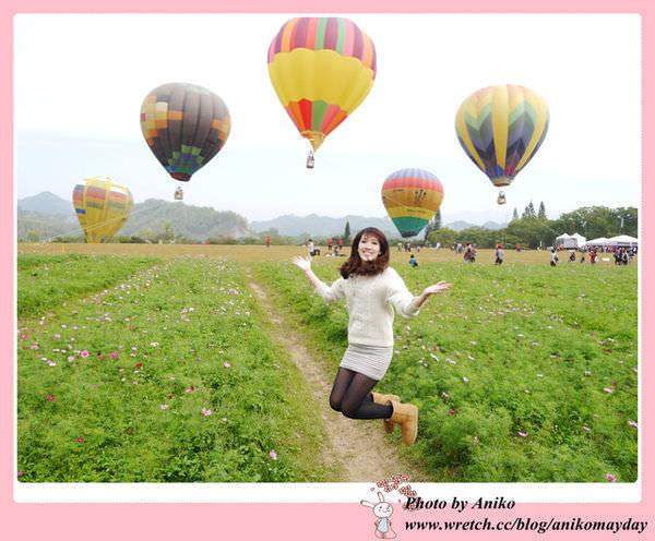 【台南旅遊】走馬瀨農場熱氣球嘉年華。今年寒假就醬玩~來台南搭熱氣球就對了!