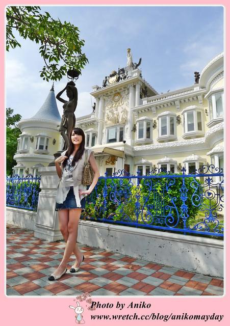 【台南旅遊】移民署台南服務站。好夢幻~在歐式城堡裡上班