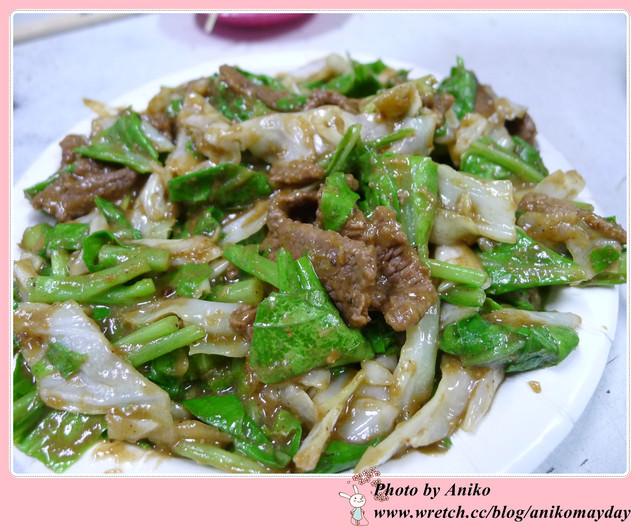 【台南美食】我記憶中美味的炒羊肉首選。阿福羊肉