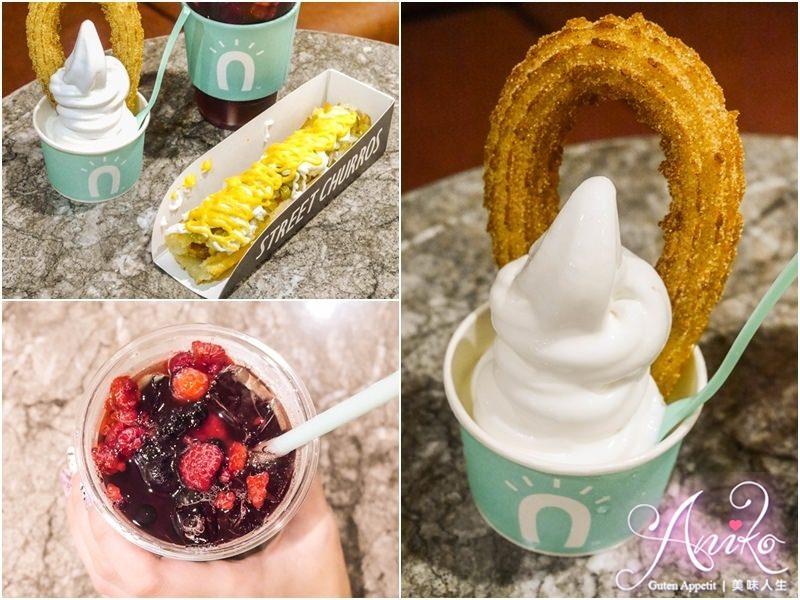 【台北美食】Street churros吉拿圈(信義新光A8)。韓國超人氣甜點吉拿圈!!香脆不膩秒殺街頭零嘴