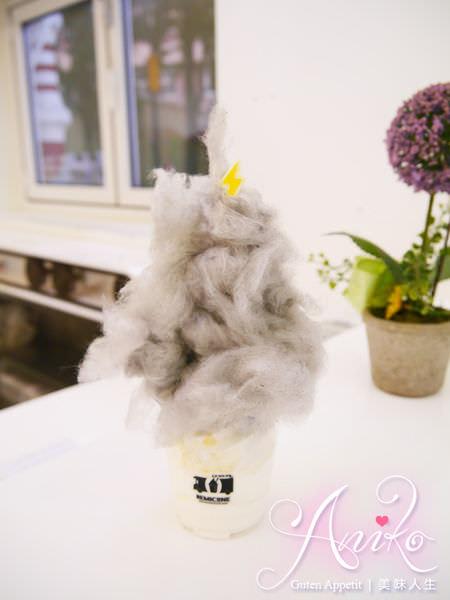 【首爾自由行】閃電打到舌間的奇妙滋味~新沙洞韓國創意冰品。REMICONE烏雲冰