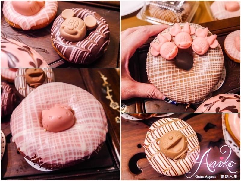 【台南美食】朵莉屋甜甜圈。少女絕對失控~銅板價超萌HELLO KITTY、米奇造型甜甜圈!