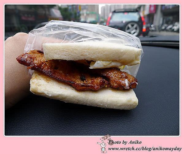 【妮❤吃】簡單的美味~想吃!請耐心排隊。肉蛋土司