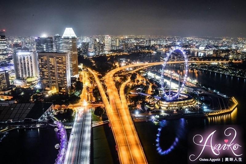 【新加坡自由行】5天4夜新加坡自由行。金沙酒店空中花園Skypark & 燈光秀~新加坡頂級夜景盡收眼底
