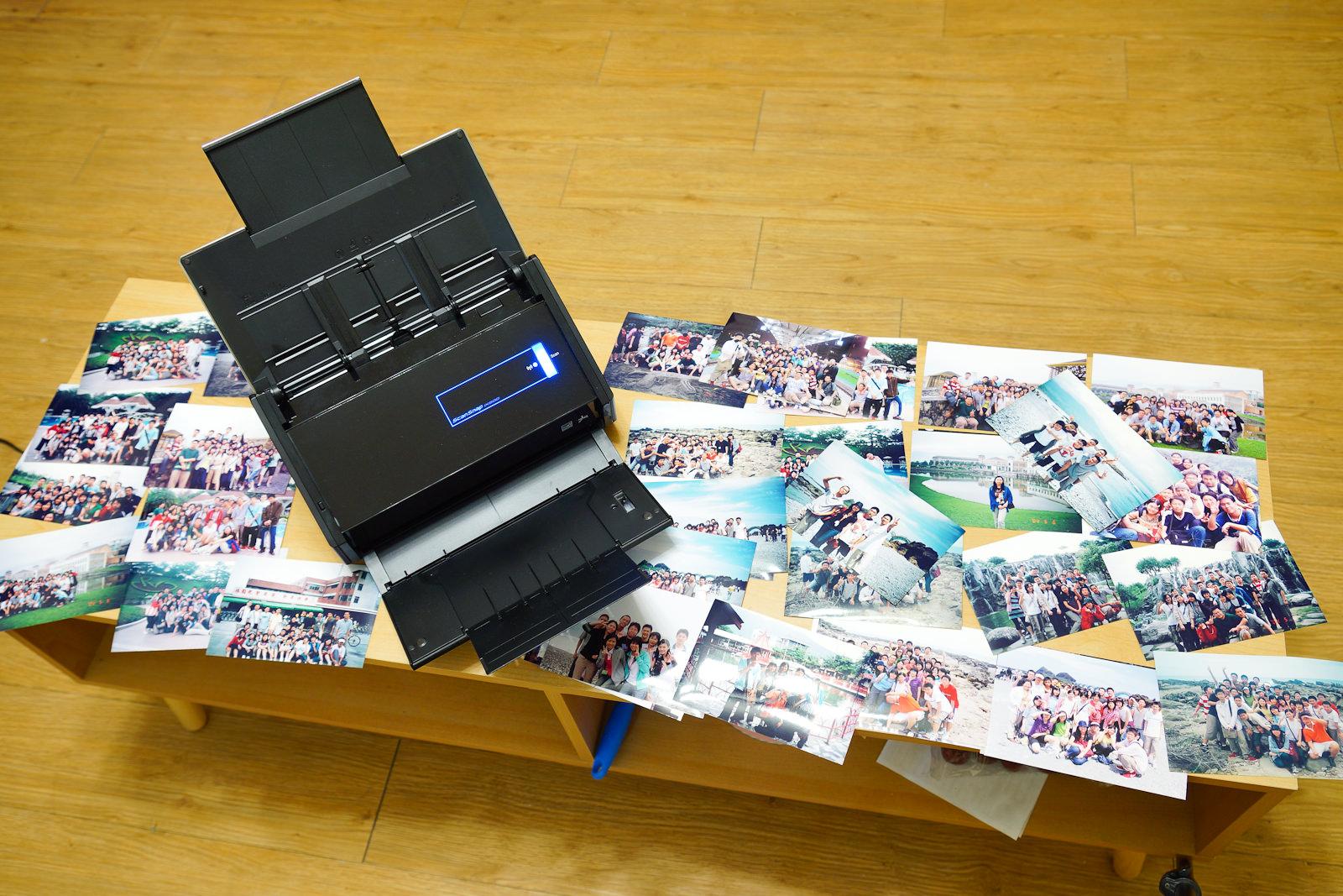 【3C】富士通ScanSnap ix500。備份每刻珍貴回憶