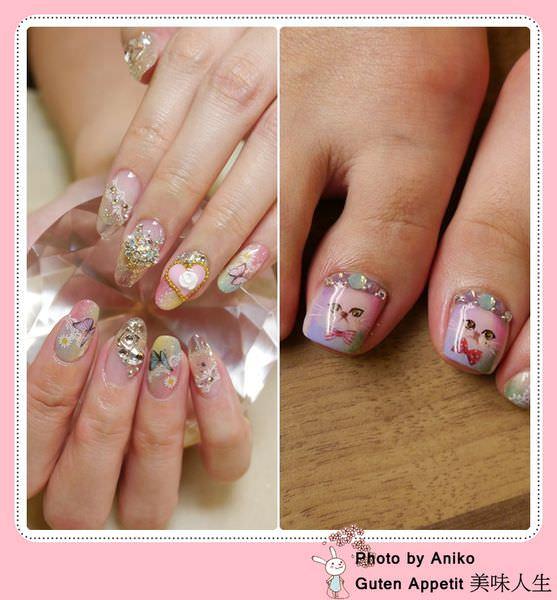 【指彩】珠光寶氣千金風 VS. 淘氣小貓咪 你喜歡哪種?