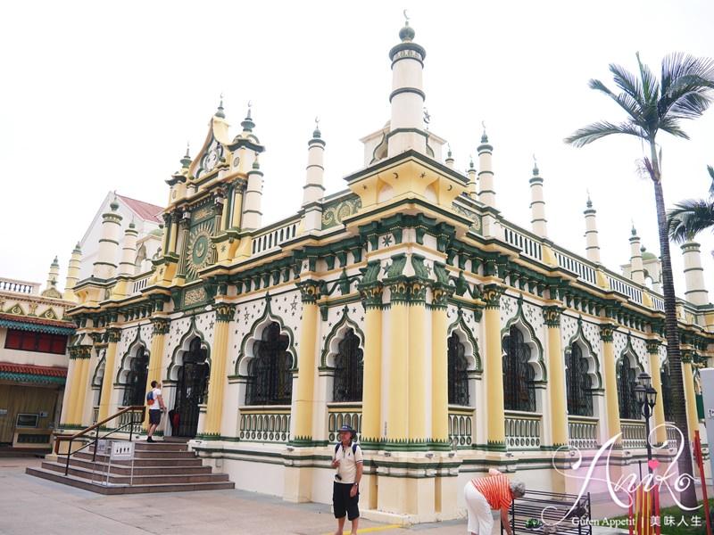 【新加坡自由行】5天4夜新加坡自由行。小印度區景點~阿都卡夫回教堂 x 小印度迴廊