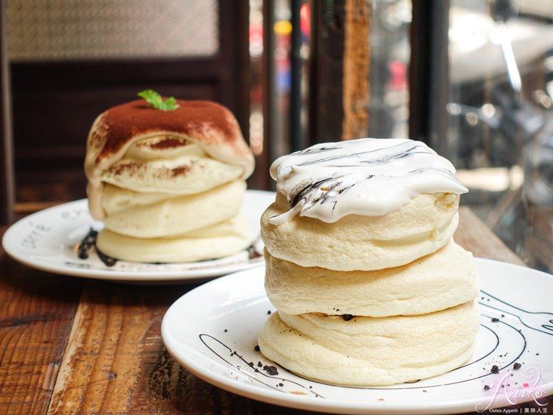【台北美食】美好年代。東區復古風格下午茶!視覺系甜點~夢幻大理石舒芙蕾鬆餅