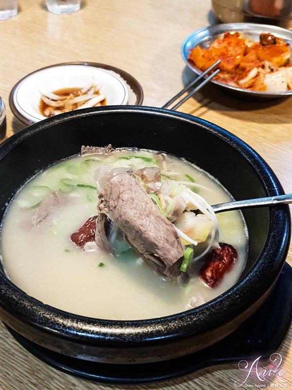 【韓國首爾美食】神仙雪濃湯。弘大美食推薦!24小時喝得到濃郁牛骨湯 (含2019菜單)