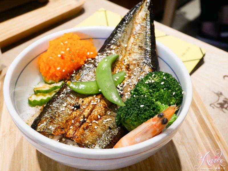 【台中美食】秋刀鬪肥牛。台中丼飯推薦~CP值爆表!沙拉、味噌湯、白飯、飲料無限吃到飽