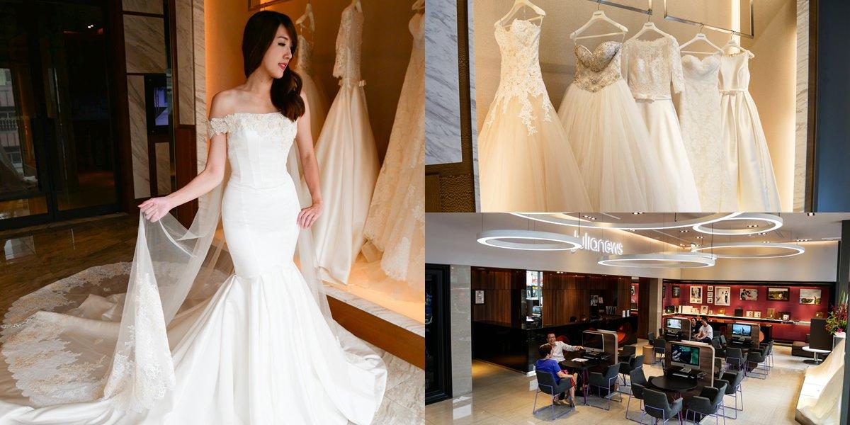 【台中婚紗推薦】茱莉亞精品婚紗。夢幻絕美婚紗讓人愛不釋手!禮服試穿心得分享