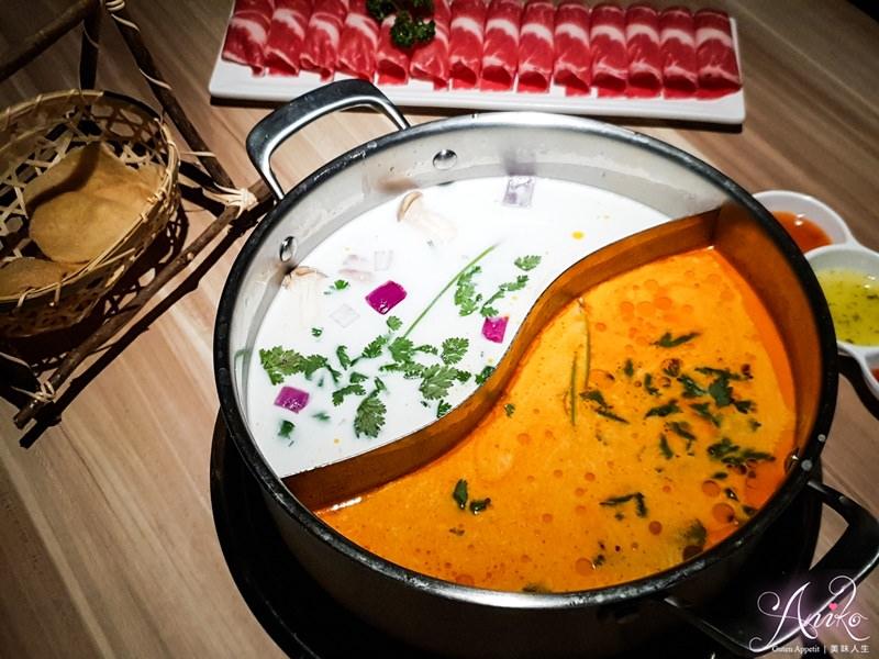 【台北美食】泰滾Rolling Thai泰式火鍋。免費撈泰國蝦!好吃好拍森林系網美餐廳