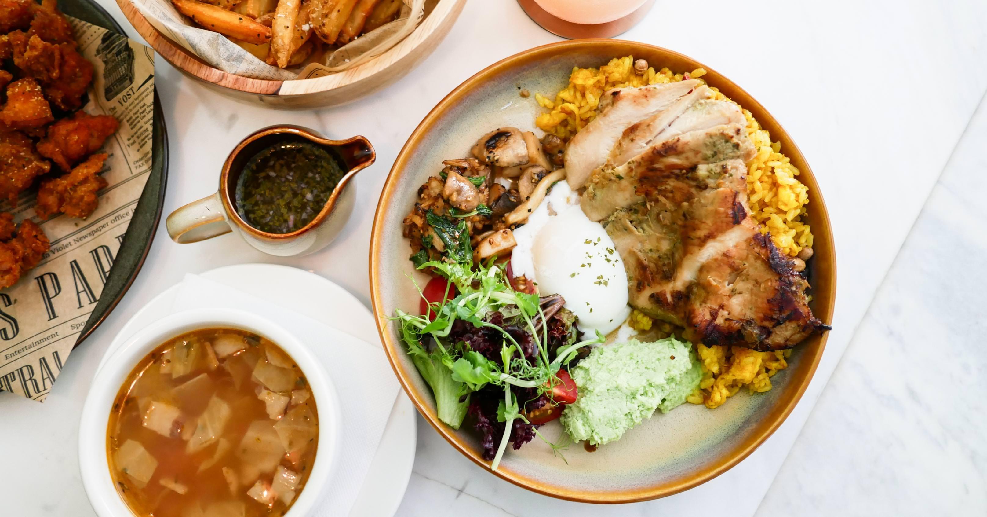 【台北美食】SELF Oasis 綠洲。瑞安街美食推薦!來城市中的小綠洲品嚐赤道飯吧