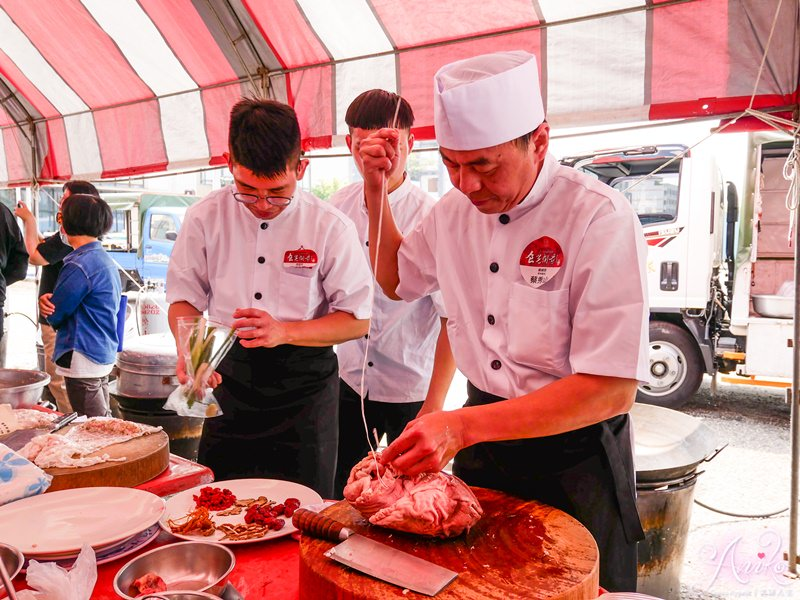 【台南活動】2019台南美食節。重現36道經典辦桌料理~帶你回到辦桌黃金年代