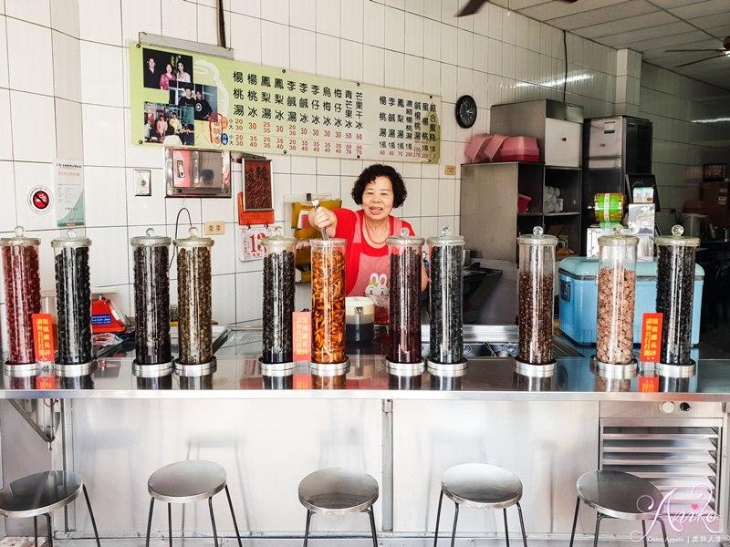 【台南美食】蜜桃香冷飲店。古早味蜜餞老店~透心涼50年老字號楊桃湯