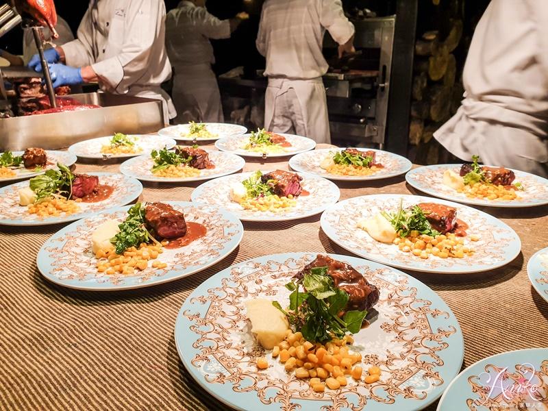 【台北美食】君品酒店雲軒西餐廳。牛排、泰國活蝦無限享用!再給你米其林三星頤宮經典片皮鴨三吃