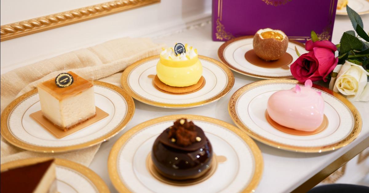 【台北美食】Gelovery Gift 蒟若妮法式甜點店。來場歐式宮廷下午茶,品嚐藍帶主廚的法式甜點手藝~ 內用招待瑪黑茶
