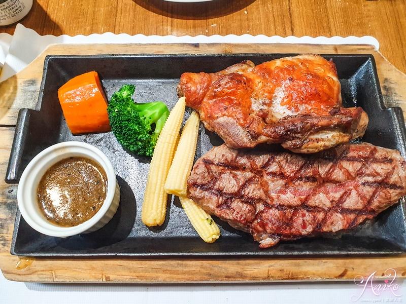【永和美食】阿里小廚美式牛排餐廳。永和人最愛的美式牛排!自助吧無限享用牛肉湯~超澎湃肉量不手軟