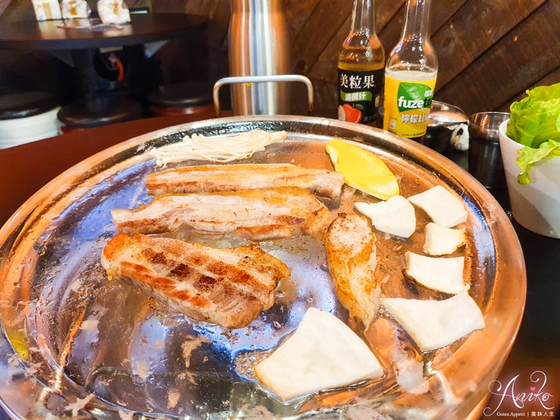 【永和美食】豬先生韓式料理。韓國引進~超特別水晶烤盤烤肉!!!就連石鍋拌飯都很不一樣