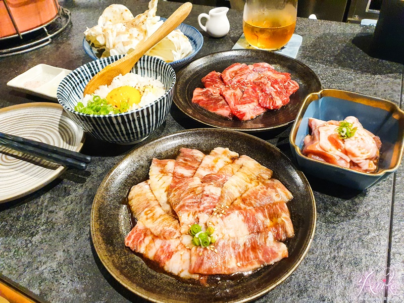 【台南美食】知火精緻燒肉。台南人票選前十大必吃燒肉~全程幫烤吃完身上不會沾燒肉味