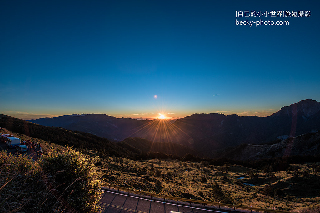 2015.May Hehuan Mountain sunrise @Nantou合歡山日出