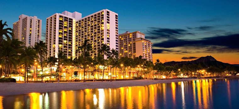 歐胡島 夏威夷住宿。萬豪酒店MARRIOT