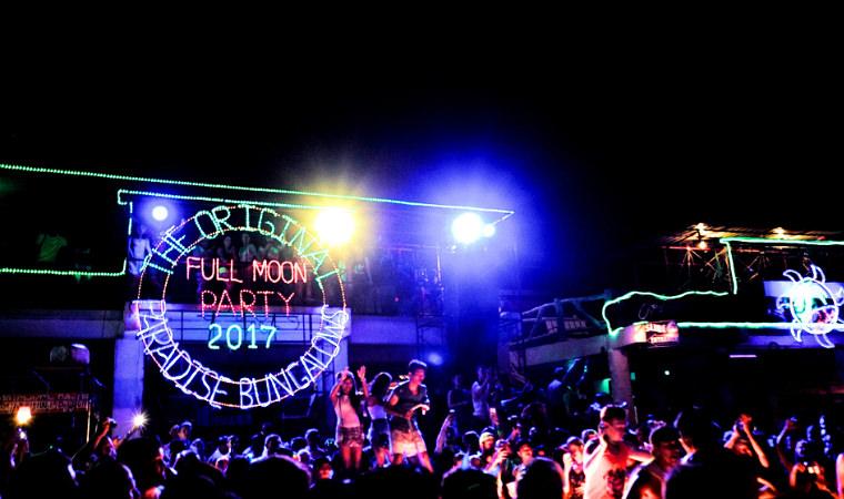 蘇美島。Let's Party All Night! 滿月 派對 Full Moon Party