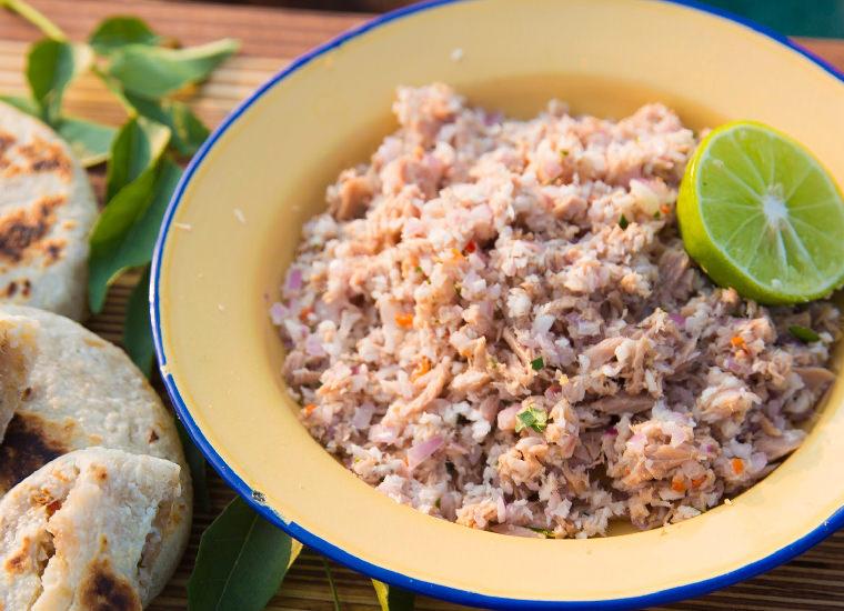 馬爾地夫美食-鮪魚椰子絲