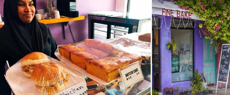 馬爾地夫美食-居民島-馬富士島麵包店