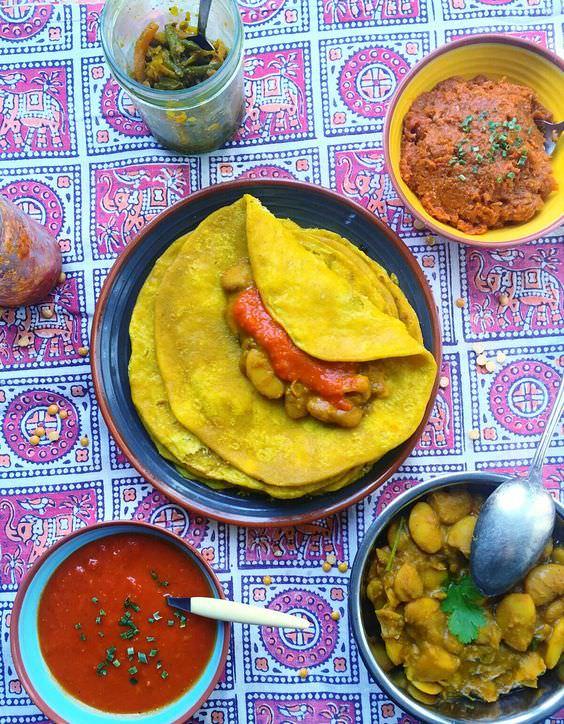 模里西斯,Mauritius,模里西斯旅遊,模里西斯美食,美食,杜普里薄餅Dholl Puri