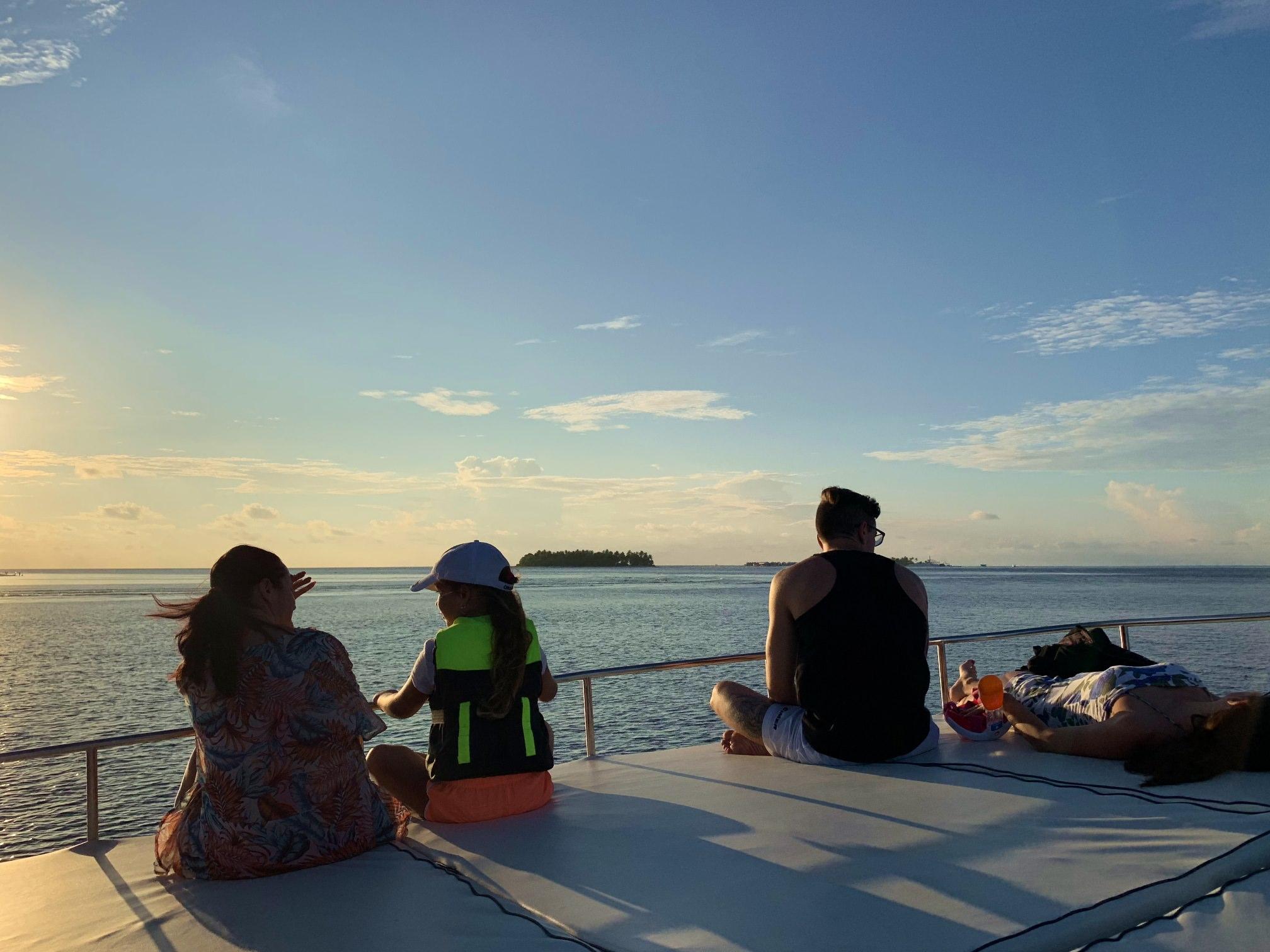 馬爾地夫,居民島,Thinadhoo,提納度,護士鯊,夜間浮潛,plumeria,夕陽