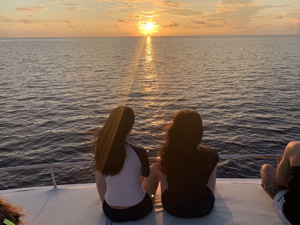 馬爾地夫,居民島,Thinadhoo,提納度,護士鯊,夜間浮潛,夕陽