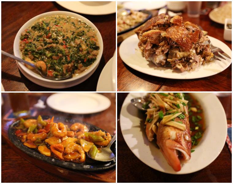 巴拉望公主港 美食。KINABUCHS菲式風味餐廳