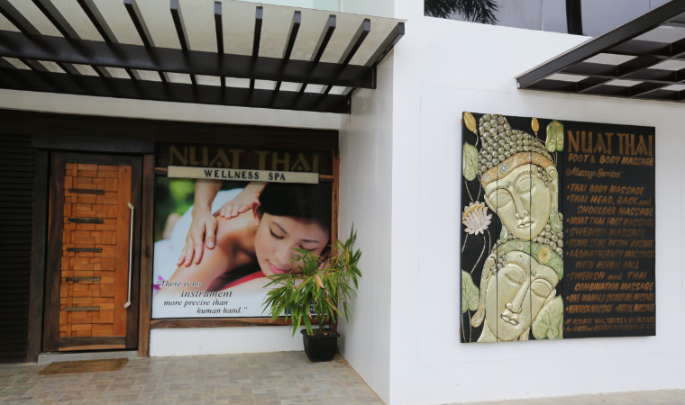 巴拉望公主港。 NUAT THAI WELLNESS SPA